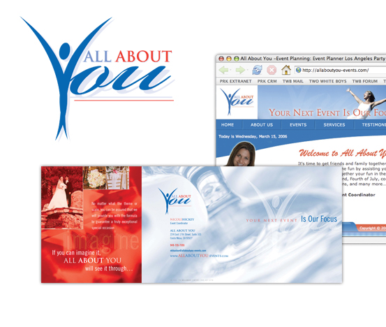 All About You, Corporate Identity
