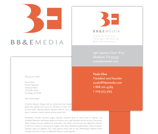 BB&E Media, LLC, Corporate Identity