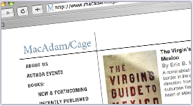 Mac Adam/Cage Publishing